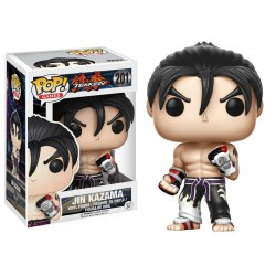 JIN KAZAMA BLACK AND WHITE TEKKEN POP! GAMES VYNIL FIGURE