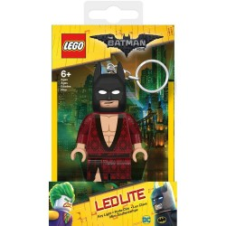 BATMAN BATHROBE LEGO MOVIE BATMAN LAMP KEYCHAIN