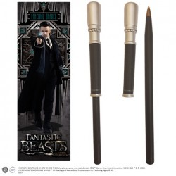 PERCIVAL GRAVES FANTASTIC BEASTS WAND PEN AND BOOKMARK