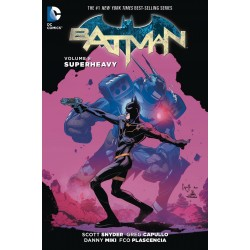 BATMAN VOL.8 SUPERHEAVY SC
