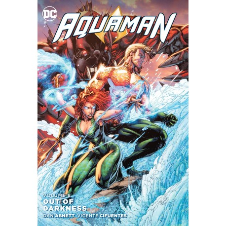 AQUAMAN VOL.8 OUT OF DARKNESS SC