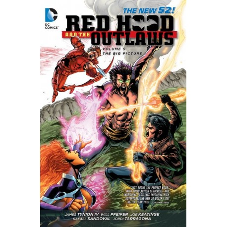 RED HOOD AND THE OUTLAWS VOL.5 BIG PICTURE