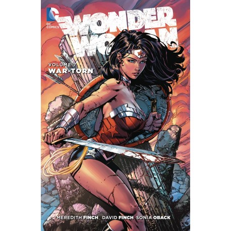 WONDER WOMAN VOL.7 WAR-TORN SC