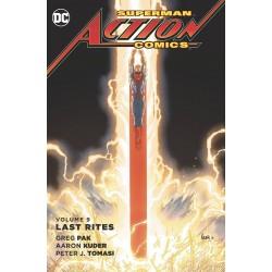 SUPERMAN ACTION COMICS VOL.9 LAST RITES SC