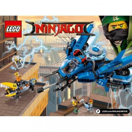 LIGHTNING JET SET LEGO THE NINJAGO MOVIE 70614 - Album Comics