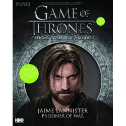 JAIME LANNISTER PRISONER OF WAR GAME OF THRONES COLLECTION NUMERO 37
