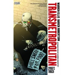 TRANSMETROPOLITAN VOL.7 SPIDER'S TRASH NEW ED