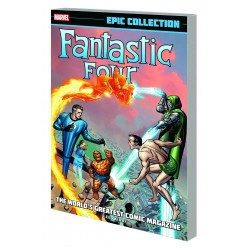 FANTASTIC FOUR EPIC COLL WORLD'S GREATEST COMICS MAGAZINE