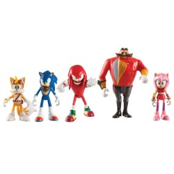 SONIC BOOM 5 PACK FIGURES