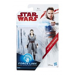 REY JEDI TRAINING STAR WARS EPISODE VIII FORCE LINK ACTION FIGURE
