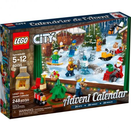 Lego City 2017 Advent Calendar Album Comics