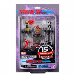 WHAT IF MARVEL MARVEL HEROCLIX FAST FORCES PACK 15TH ANNIVERSARY