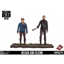 NEGAN AND GLENN THE WALKING DEAD 2 PACK ACTION FIGURE