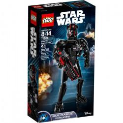 ELITE TIE FIGHTER PILOT BUILDABLE LEGO FIGURE