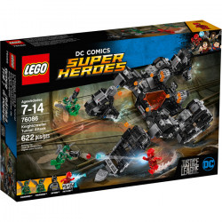 KNIGHTCRAWLER TUNNEL ATTACK LEGO JUSTICE LEAGUE