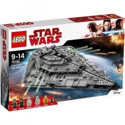 FIRST ORDER STAR DESTROYER STAR WARS LEGO FIGURE