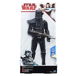 IMPERIAL DEATH TROOPER STAR WARS EPISODE VII THE LAST JEDI ELECTRONIC ACTION FIGURE