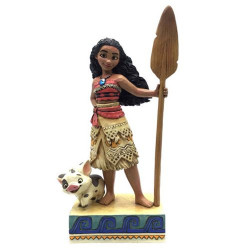 MOANA FIND YOUR OWN WAY DISNEY RESIN STATUE