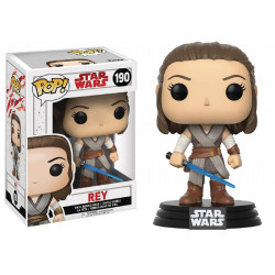REY STAR WARS EPISODE 8 POP! VINYL BOBBLE FIGURE