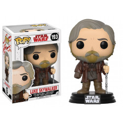 LUKE SKYWALKER STAR WARS EPISODE 8 POP! VINYL BOBBLE FIGURE