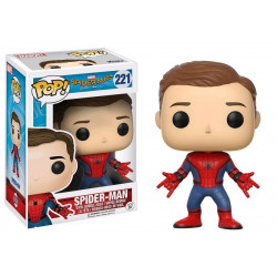 SPIDER-MAN UNMASKED SPIDER-MAN HOMECOMING POP! MARVEL VYNIL FIGURE
