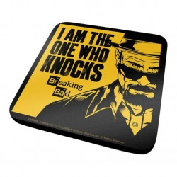 BREAKING BAD - I AM THE ONE WHO KNOCKS - COASTER