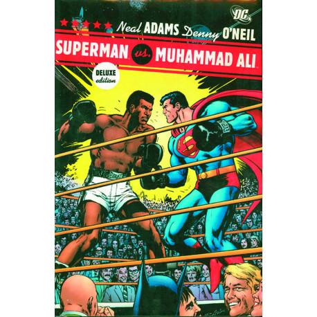 SUPERMAN VS MUHAMMAD ALI DELUXE ED HC