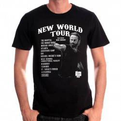 NEW WORLD TOUR T-SHIRT EXTRA LARGE SIZE THE WALKING DEAD