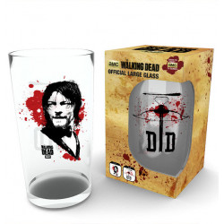 DARYL DIXON THE WALKING DEAD BOXED GLASS