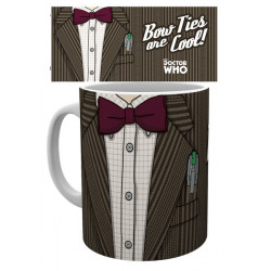 BOWTIES ARE COOL DOCTOR WHO BOXED MUG