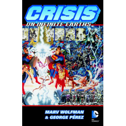 CRISIS ON INFINITE EARTHS DELUXE ED HC
