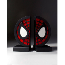 SPIDER-MAN MARVEL COLLECTIBLE LOGO BOOKENDS
