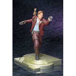 STAR-LORD AND GROOT GUARDIANS OF THE GALAXY VOL 2 MARVEL ARTFX STATUE