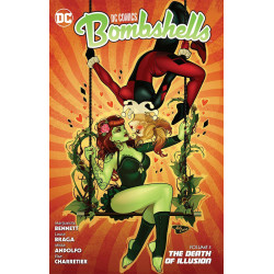 DC COMICS BOMBSHELLS VOL.5 DEATH OF ILLUSION