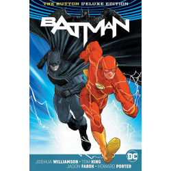 BATMAN FLASH BUTTON INTERNATIONAL ED HC