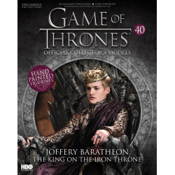 JOFFREY BARATHEON KING ON THE IRON THRONE GAME OF THRONES COLLECTION NUMERO 40