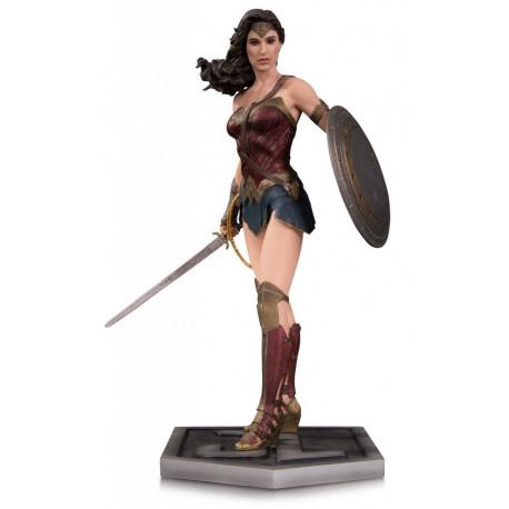 WONDER WOMAN JUSTICE LEAGUE DC COMICS RESIN STATUE