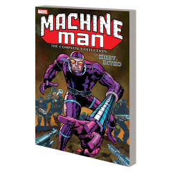 MACHINE MAN BY KIRBY AND DITKO COMP COLL
