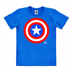CAPTAIN AMERICA SHIELD MARVEL T-SHIRT LARGE SIZE