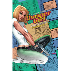 J SCOTT CAMPBELL DANGER GIRL SKETCHBOOK EXPANDED ED HC