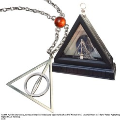 DEATHLY HOLLOWS HARRY POTTER XENOPHILIUS LOVEGOOD NECKLACE REPLICA