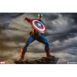 CAPTAIN AMERICA AVENGERS ASSEMBLE MARVEL 1/5 COLLECTIBLE STATUE
