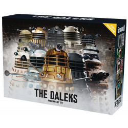THE DALEKS PARLIAMENT SET DOCTOR WHO COLLECTION