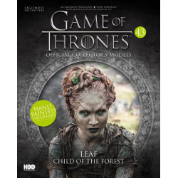 LEAF CHILD OF THE FOREST GAME OF THRONES COLLECTION NUMERO 43