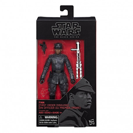 FINN FIRST ORDER DISGUISE STAR WARS THE BLACK SERIES WAVE 8 ACTION FIGURE