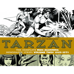 TARZAN MANNING STRIPS VOL.2 1969-1971 HC