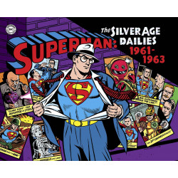 SUPERMAN SILVER AGE NEWSPAPER DAILIES VOL.2 1961-1963 HC