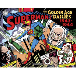SUPERMAN GOLDEN AGE DAILIES 1942-1944 HC
