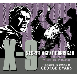 X-9 SECRET AGENT CORRIGAN VOL.6 1980-1982 HC