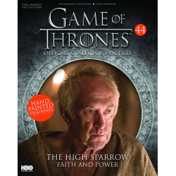 THE HIGH SPARROW FAITH AND POWER GAME OF THRONES COLLECTION NUMERO 44